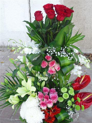 3 Feet Tall Flowers Basket Delivery in Sharjah