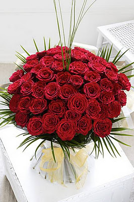 Treasure 50 Red Rose Bouquet Delivery Sharjah