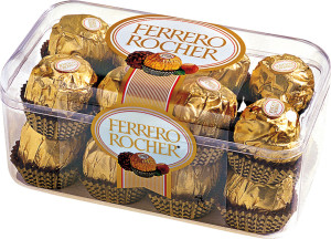 Ferrero Rocher Chocolate Box 200 GM with Flowers