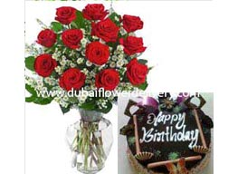 cake flowers delivery sharjah