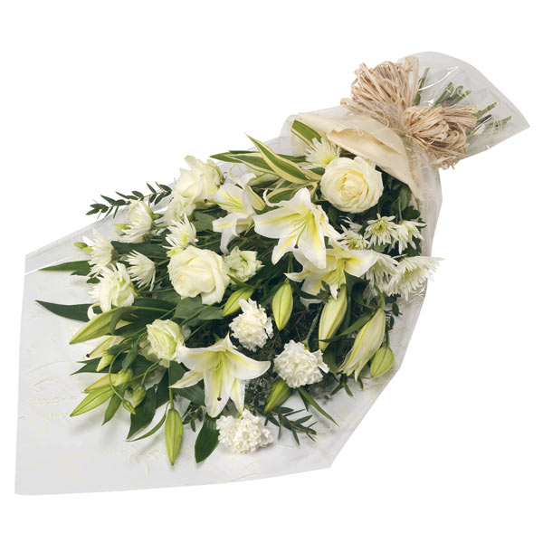 White Flowers Bouquet for Quick Free Delivery in Sharjah